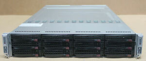Supermicro SuperServer 6027TR-DTRF 2-Node Server X9DRT-HF 4x E5-2640v2 256GB Ram