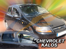 CHEVROLET AVEO/KALOS 5-doors 2004-2008 4-pc wind deflectors HEKO Tinted