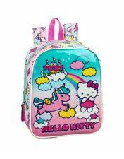 Hello Kitty Candy Unicorns Mochila guardería niña adaptable carro