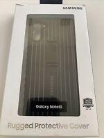 Genuine Samsung Brand - Rugged Kickstand Case for Samsung Galaxy Note 10 - Black