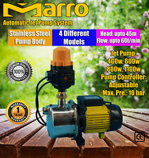 Marro Auto High Pressure Water Jet Pump Garden Household Rain Tank Irrigation