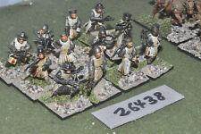 25mm medieval / german - crossbowmen 12 figures (plastic) - inf (26438)