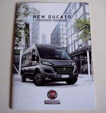 Fiat . Ducato . Fiat Ducato . Passenger Transport . October 2014 Sales Brochure