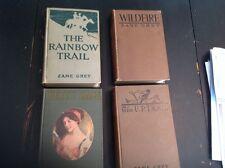 Four Vintage Books Of Zane  Grey