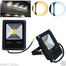 10W 20W LED Flood Light Slim Outdoor Landscape Garden Lamp Floodlight Waterproof