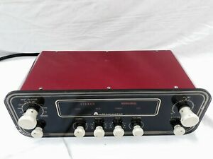 AUDIOMASTER VINTAGE HI FIDELITY STEREO TUBE PRE  AMPLIFIER  MADE IN THE UK🇬🇧