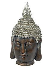 Große Buddha Büste 53 cm Buddhafigur Buddhakopf Figur Skulptur Dekofigur