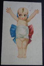 CARTOLINA CUPIDO ROSE O'NEIL KEWPIE THE KEWPIE BABY CUPIE DOLL VINTAGE RARO 1