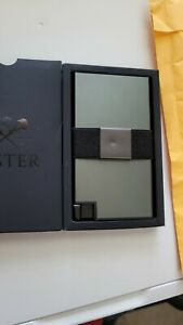 Ekster Aluminum Cardholder Wallet - Green Ore