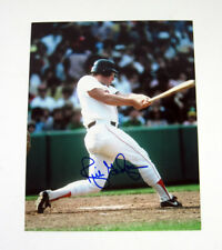 MLB Baseball Rich Gedman Red Sox autographed signed 8x10 photo