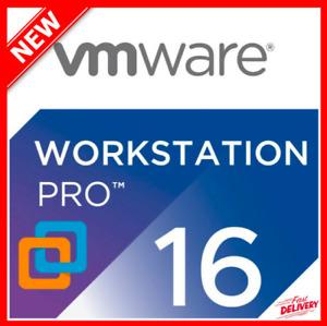 VMware Workstation 16 Pro [LICENSE KEY] delivery 10s