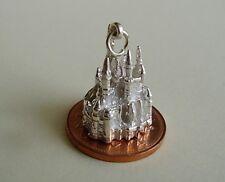 BEAUTIFUL  ' FAIRYTALE CASTLE  ' SILVER  CHARM Charms