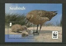 SOUTH GEORGIA SOUTH SANDWICH ISLANDS - 2012 SEA BIRDS MINISHEET -MNH