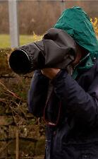 Budget Housse de pluie avec fin cap couverture pour Canon 100 à 400 MK1 MK2 + 6D 7D 5D MK3