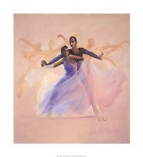 African American Limited Edition Art Print - Morning Glory - Lavarne Ross - New!