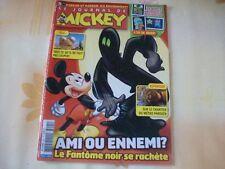 JOURNAL DE MICKEY N°3091 14 SEPTEMBRE 2011 LE FANTOME NOIR LE METRO PARISIEN