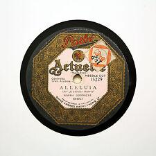 """RISPAH GOODACRE """"Alleluia / The Holy Child"""" 12"""" PATHE ACTUELLE 15229 [78 RPM]"""
