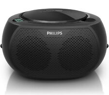 Philips AZ380 Portable  Boombox w/USB, Aux In, CD Soundmachine 110V / 220V