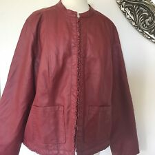 Cato Womens Cranberry Jacket Size 22 - 24W. H