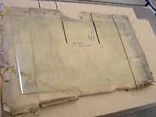NOS OEM Ford 1960 1961 Galaxie Ranch Station Wagon Door Window Glass Clear