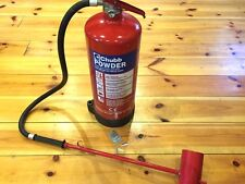 CHUBB Powder fire metal extinguisher 9KG L2 with pipe and metal shoot empty