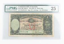 1942 Australia 1 Pound Banknote Graded by PMG VF-25 P#26b