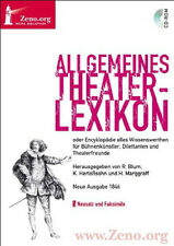 General Theater Lexikon for Bühnenkünstler Theaterfreunde DVD Zeno Band 22
