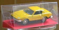 DINKY MECCANO 211 TRIUMPH TR7 1975/80 SPORTS CAR +  CLEAR MODEL DISPLAY BOX