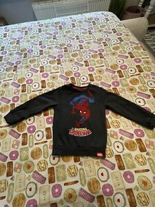 Boy's M&S Spiderman Jumper Age 2-3 Years