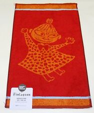 Moomin Little My Red Hand Towel Finlayson Finland Brand New