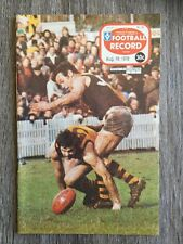 1978 VFL AFL football record Collingwood Magpies V Richmond Tigers August 19
