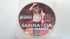 "JOAQUIN SABINA ""Y SIN EMBARGO"" CD SINGLE 1 TRACKS"