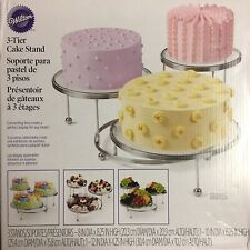 NEW!!! Wilton 307-859 3-Tier Connecting Cake/ Cupcake Stand for Weddings/Parties