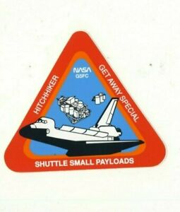 """NASA Hitchhiker Get Away Special Shuttle Small Payloads 4"""" Decal Sticker"""