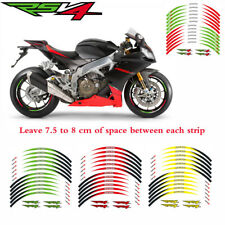 2D Printing wheel decals  Motorcycle waterproof wheel paster For Aprilia RSV4