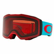 Oakley Fall Line Caribbean Sea Red Prizm Rose New Snowboard Ski Mask Goggles