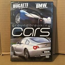 Groundbreaking Cars DVD NEW - The history of Bugatti + Definitive Story of BMW