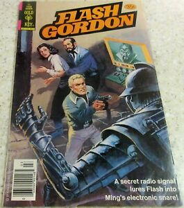 Flash Gordon 22, (FN- 5.5) Gold Key 1979, 33% off Guide!