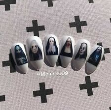 Nun Nail art Decals water decals Horror Film Nail Art Decals Halloween Nail Art
