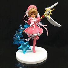 Anime Card Captor Sakura Clear Card Ver. PVC Figure 19cm tall Statue Toy No Box