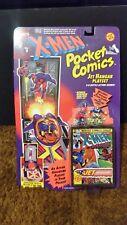 X-Men #150 POCKET COMICS Jet Hanger Playset by ToyBiz - Magneto, Cyclops