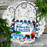 DECO Mini Sign World's Best Daddy Wood Ornament Gift  We Have All Relatives USA