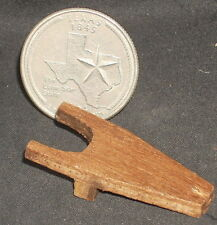Boot Jack Wood #WA1401 1:12 Mexican Dollhouse Miniature Shoe Clothing Store