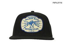 Oficial Salinas chicos Motociclista de Gorra de béisbol con logotipo Sombrero Negro 'Marca'