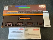 "Marklin spur z scale/gauge. ""Kali Transport"" Train Set. MHI."