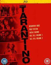 Quentin Tarantino Collection (Blu-ray) Kill Bill 1&2, Reservoir Dogs