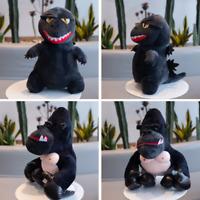 Godzilla Vs King Kong Doll Movie Q Version Stuffed Animals Plush Toys Gifts US