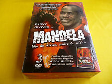 MANDELA - Hijo de Africa, padre de Africa + Documental - 3 dvd - precintada