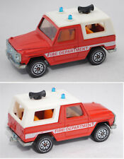 Siku Super 1344 00600 mercedes-benz 280 ge bomberos-carro de mando Fire departme
