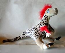 "Plush Soft Dinosaur Toy Wild Republic Poseable Utahraptor Velociraptor 20"""